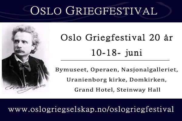 Oslo Grieg Festival hovedbilde