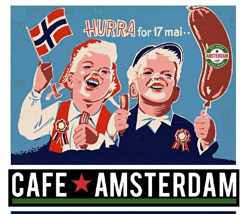 Åpent på Café Amsterdam hovedbilde