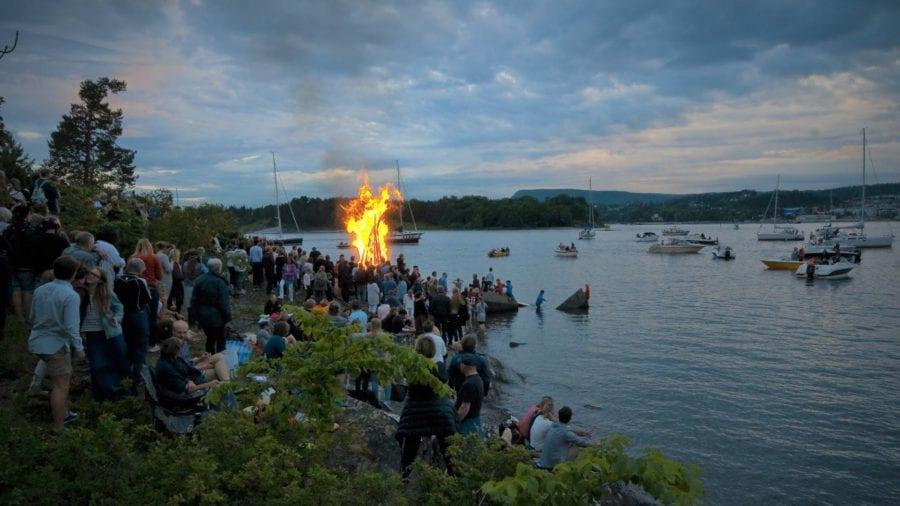 St. Hans-feiring på Høvikodden hovedbilde