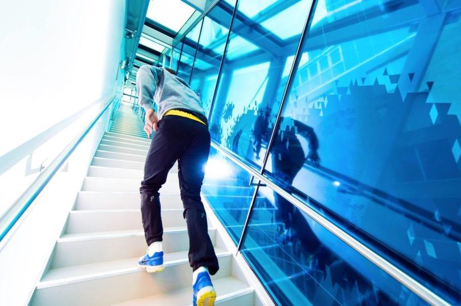Barcode Challenge trappeløp hovedbilde