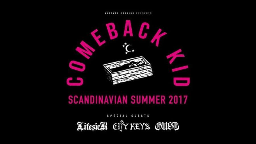 Comeback Kid m/ supp. Gust, LifesicK og City Keys hovedbilde