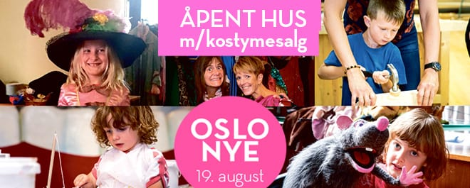 Åpent Hus m/kostymesalg hovedbilde