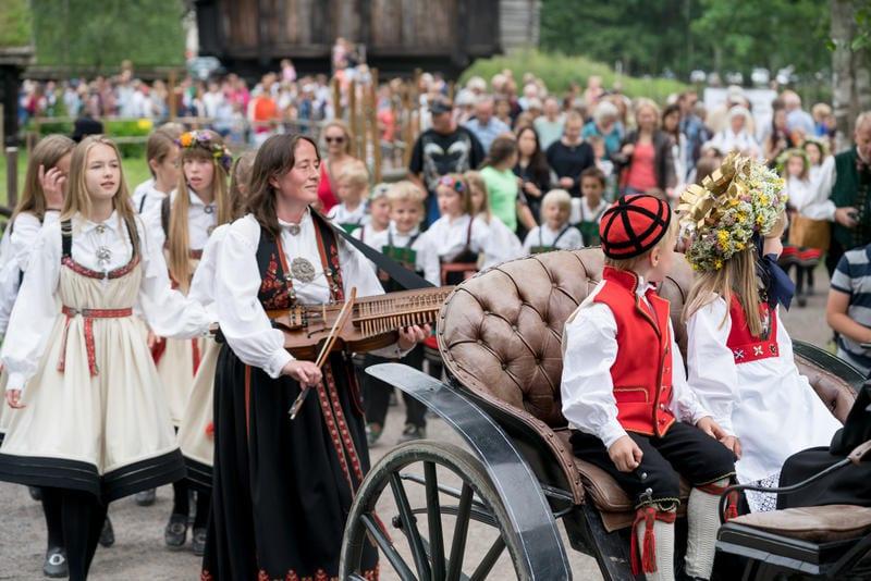 St. Hans-Feiring på Folkemuseet hovedbilde
