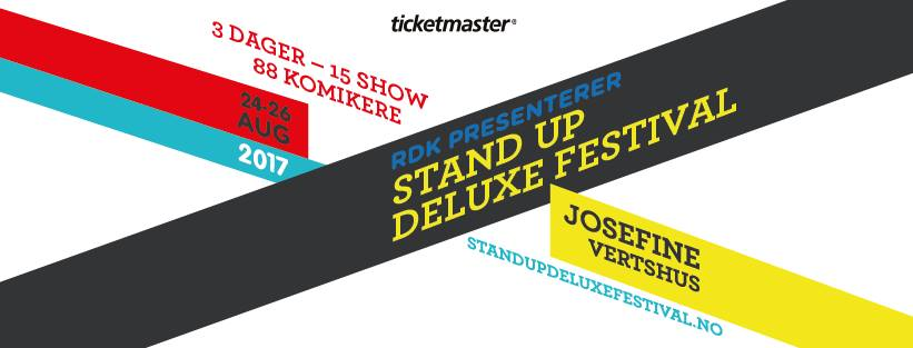 Stand Up Deluxe Festival 2017 hovedbilde