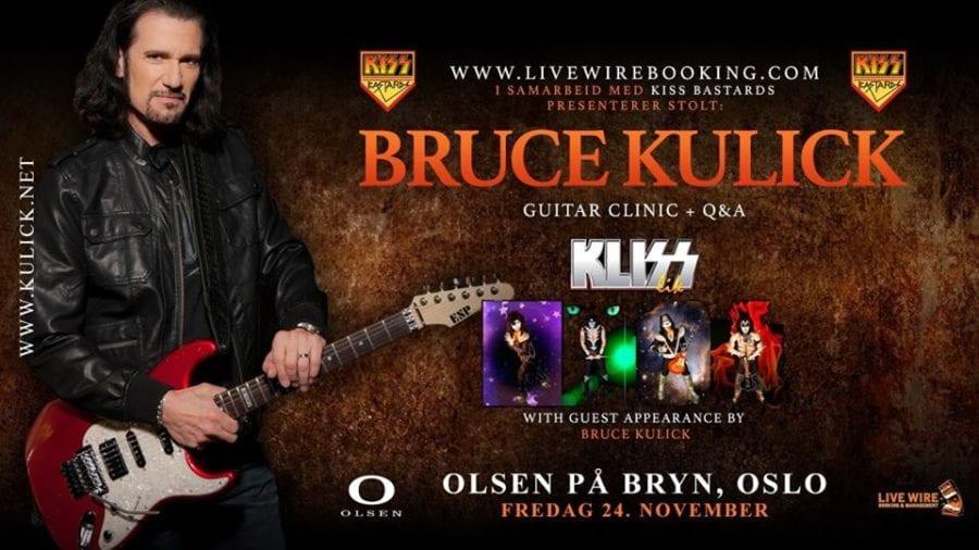 Bruce Kulick [Kiss 1984 – 1996] Guitar Clinic på Olsen på Bryn hovedbilde