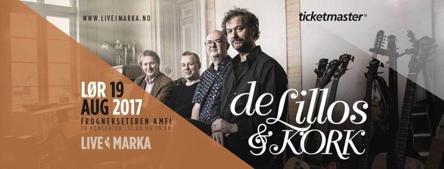 DeLillos & KORK – Live i Marka hovedbilde