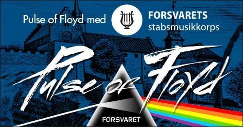 Pulse Of Floyd med Forsvarets Stabsmusikkorps til Akershus Festning hovedbilde