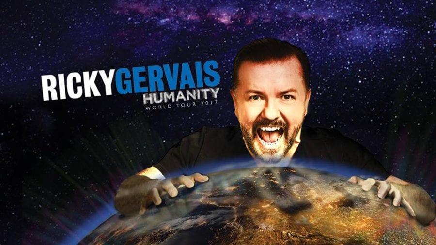 Ricky Gervais: Humanity til Oslo Spektrum hovedbilde