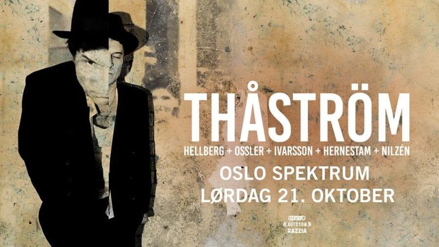 Thåström (SE) til Oslo Spektrum hovedbilde