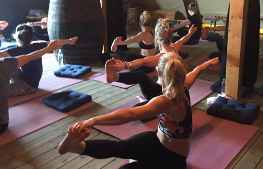 Yoga på SALT hovedbilde