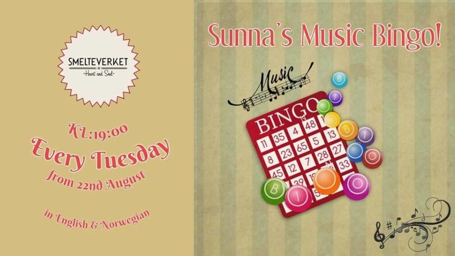 Sunna's Music Bingo