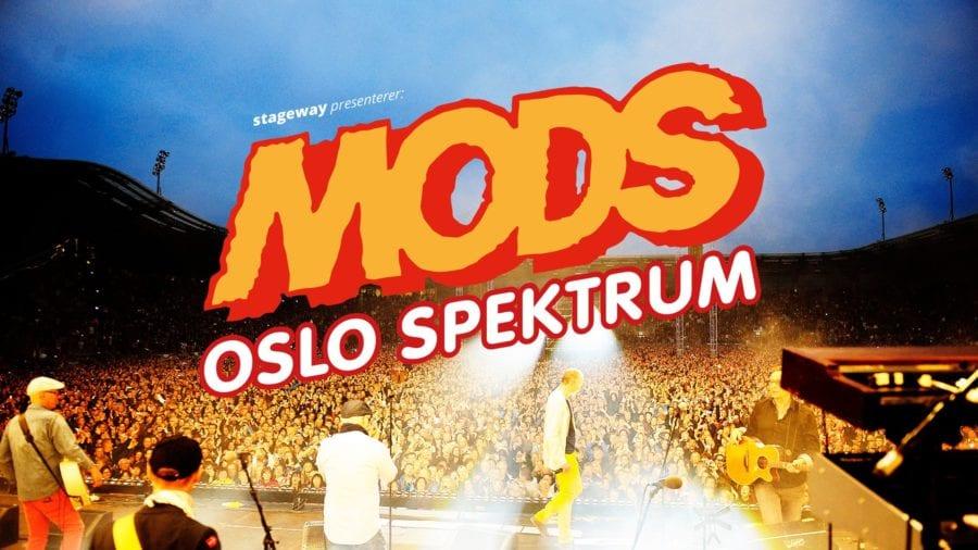 Mods til Oslo Spektrum hovedbilde