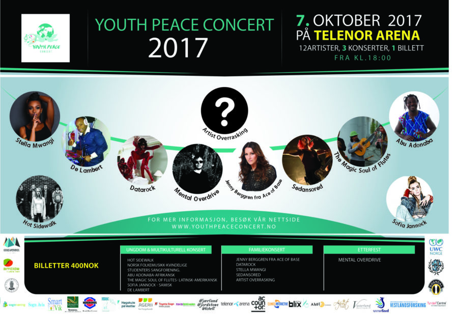 Youth Peace Concert hovedbilde