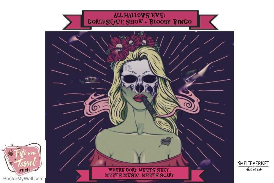 Halloween: Musikkbingo & Burlesque show hovedbilde