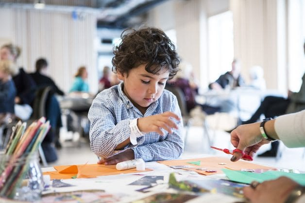 Eventbilde: Gratis: Barnas verksted – Hver helg