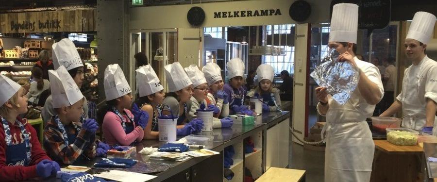Matkurs for barn med fokus på fisk hovedbilde