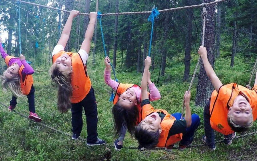 Eventbilde: Friluftsskole høst hos Furuholmen Friluft
