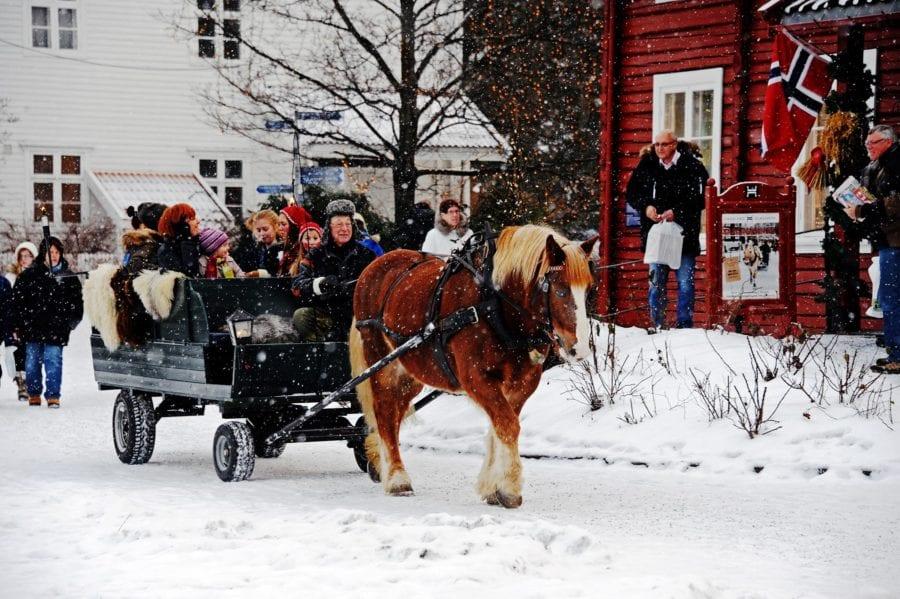 Julemarked på Hadeland Glassverk hovedbilde