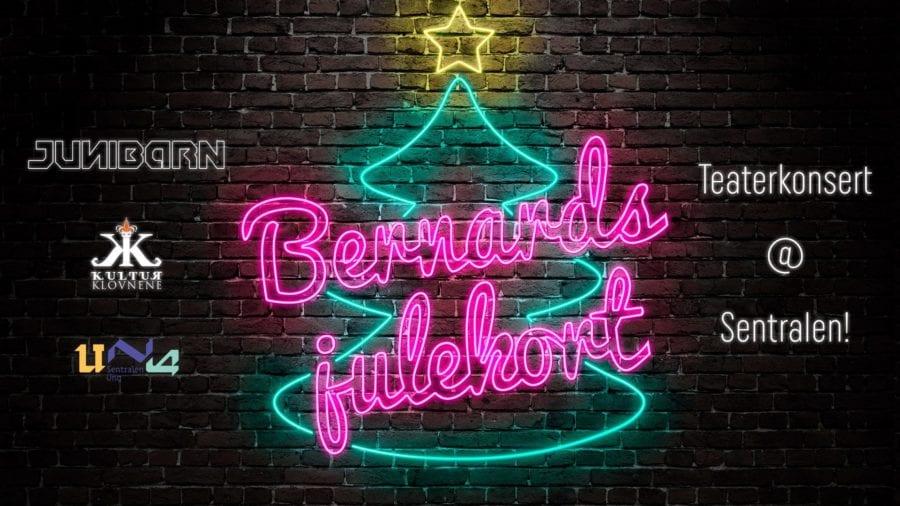 Popteaterkonsert «Bernards Julekort» hovedbilde