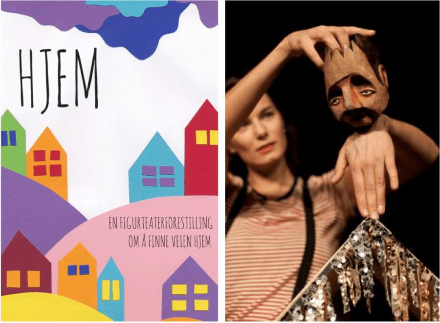 Teaterlørdag UNG: HJEM – en figurteaterforestilling hovedbilde