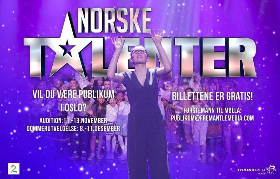 Gratisbilletter til Norske Talenter hovedbilde