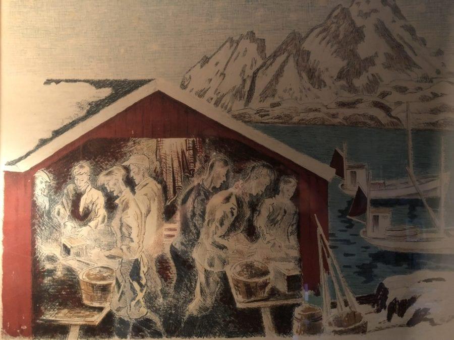 Kjempesalg av kunst, rammer, lerret m.m hovedbilde