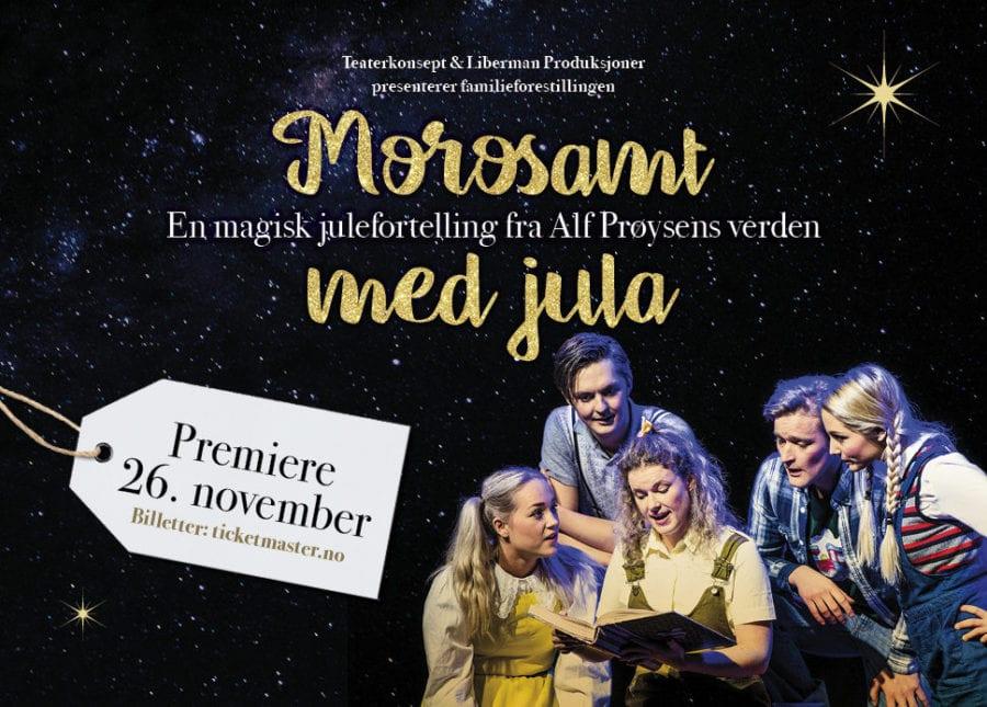Morosamt med jula – med tekster og sanger av Alf Prøysen hovedbilde
