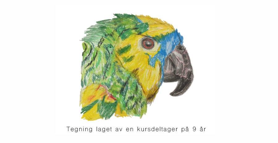 Tegnekurs for barn 6 – 11 år på Oslo Kunstakademi hovedbilde