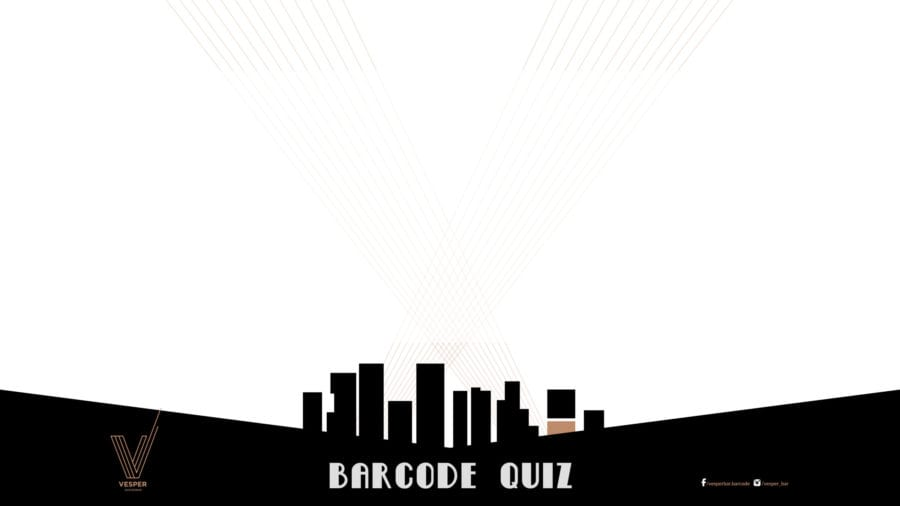 Mandag = Barcode Quiz på Vesper Bar hovedbilde