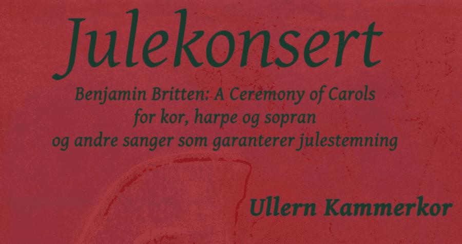 Julekonsert Ullern Kammerkor hovedbilde