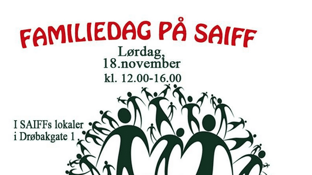 Familiedag på SAIFF hovedbilde