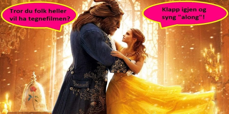 SYNG-along-kino: Beauty and the Beast hovedbilde