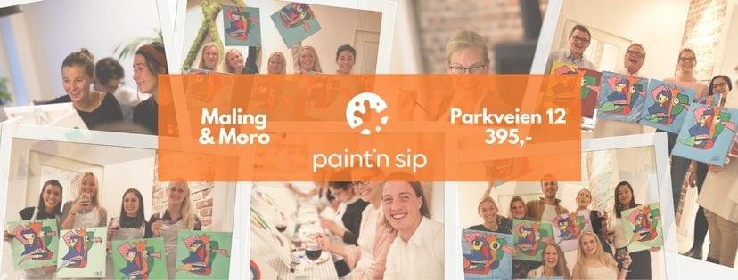 Paint'n Sip – Maling Moro hovedbilde