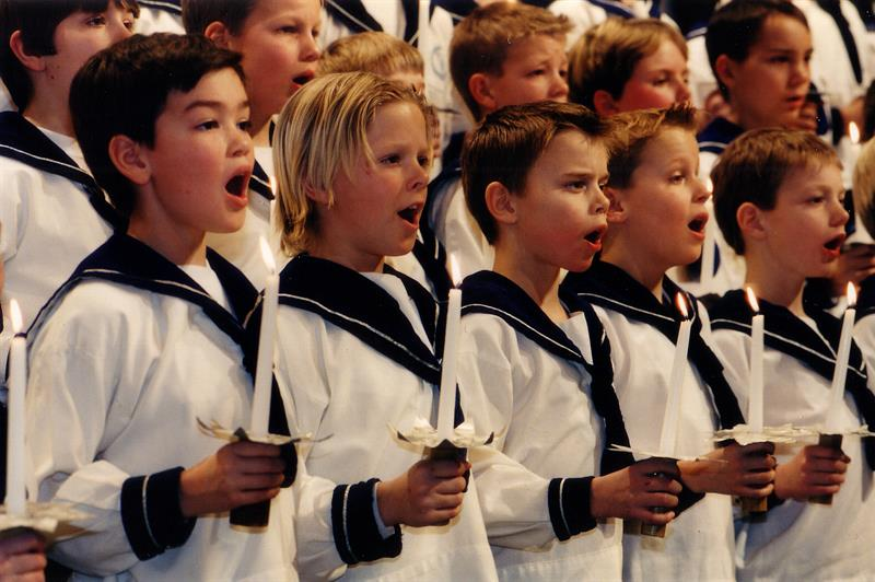 Julaftensgudstjeneste i Oslo domkirke med Sølvguttene hovedbilde