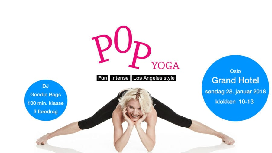 NYTT POP YOGA-event hovedbilde