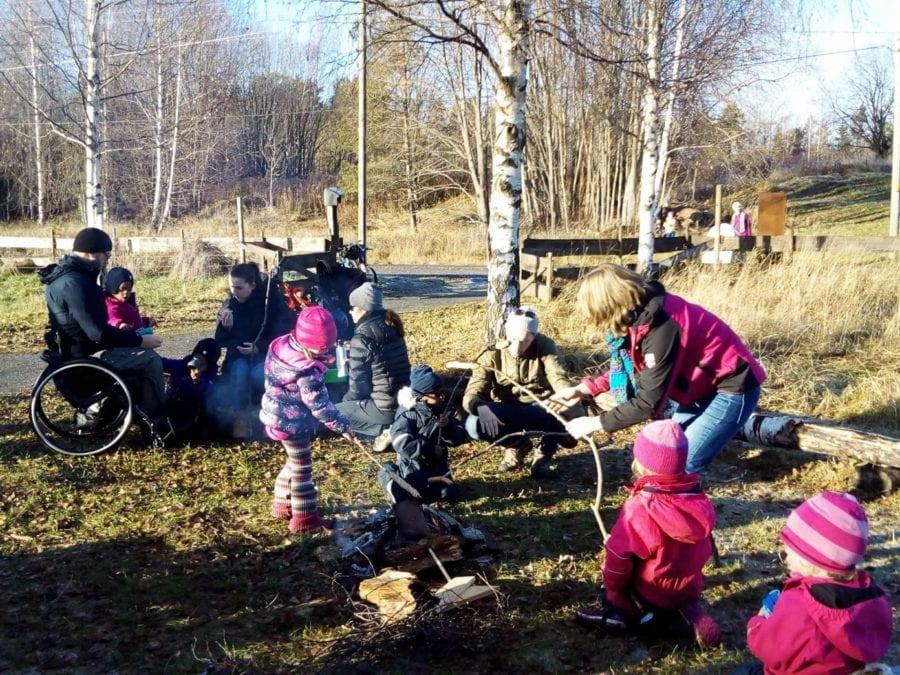 Lilløyplassen naturhus: Lag mat ute! hovedbilde