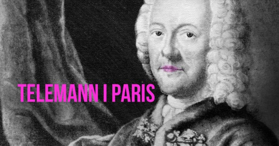 TELEMANN I PARIS hovedbilde