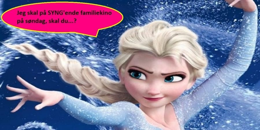 SYNG'ende familiekino: Frost hovedbilde