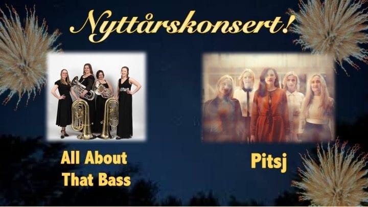 Nyttårskonsert med Pitsj og All about that bass hovedbilde
