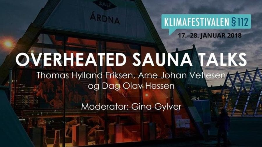 Klimafestivalen §112 – Overheated SAUNA TALK hovedbilde
