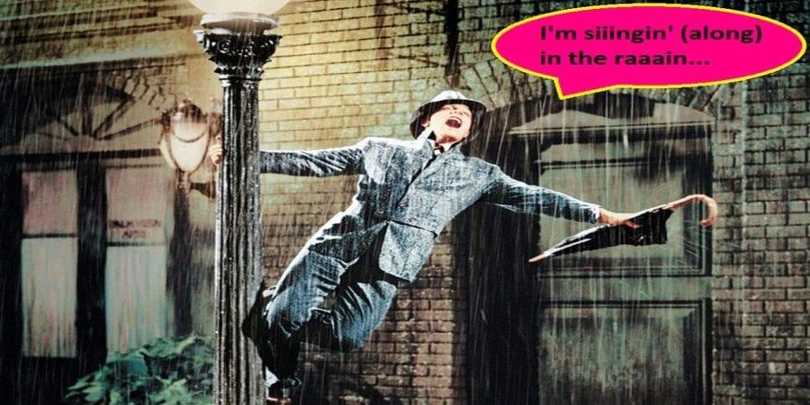 SYNG-along-kino: Singin' in the Rain hovedbilde