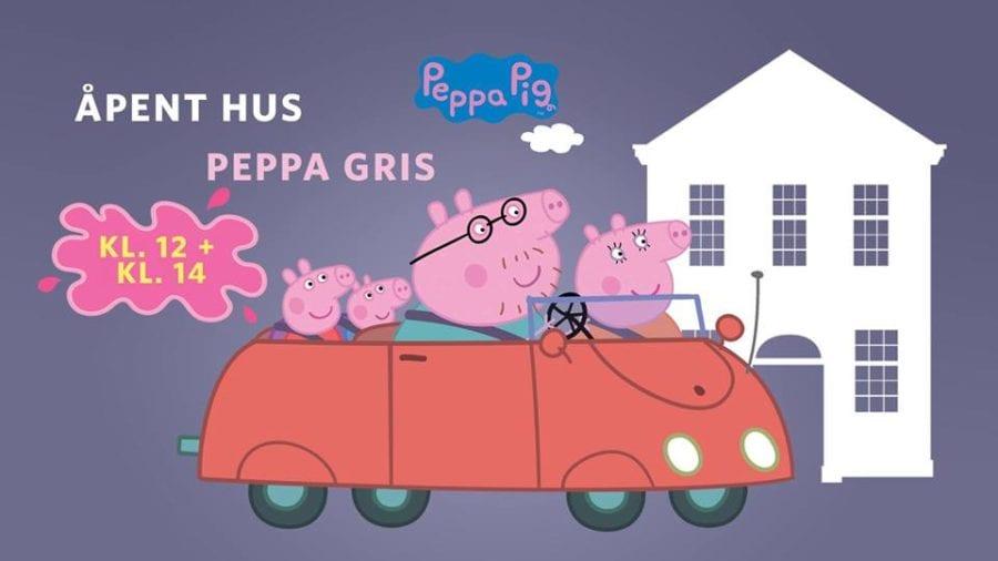 Åpent hus: Peppa Gris