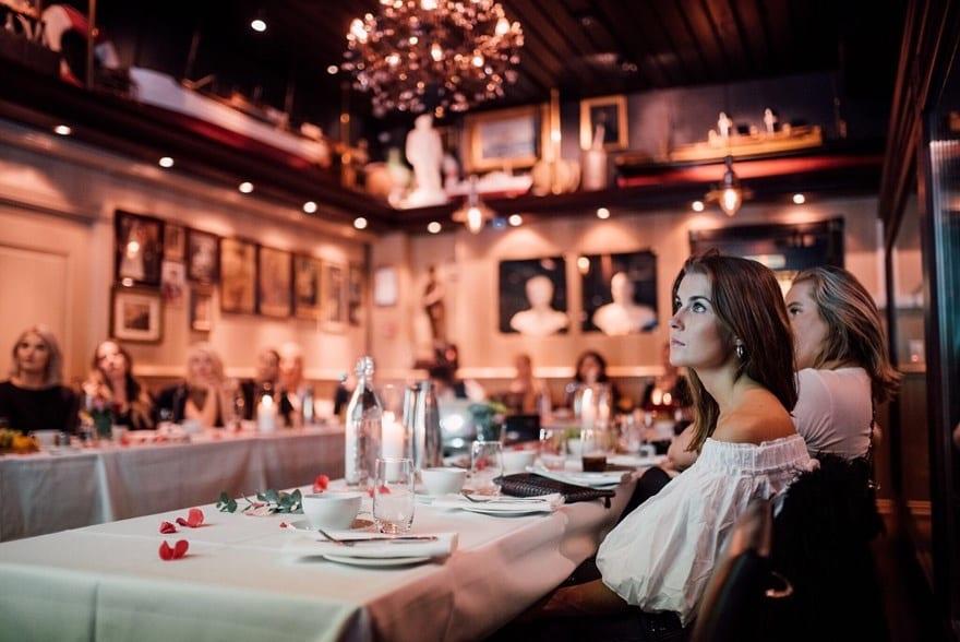 Selskapslokaler på Louise Restaurant & Bar