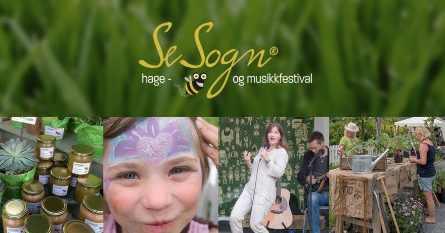 SeSogn® hage- og musikkfestival hovedbilde