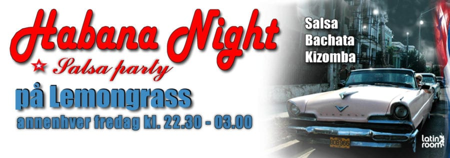 Habana Night Salsa Party fredag 16.mars hovedbilde