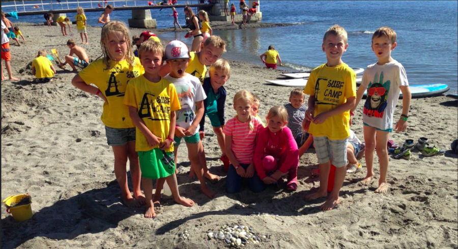 Surfcamp – sommerleir for barn! hovedbilde