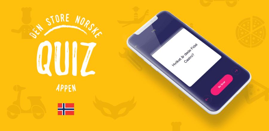 Den store norske Quiz-appen hovedbilde