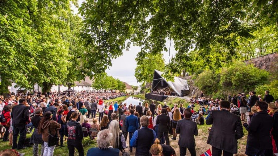 Festkonserten på Karpedammen Scene 17. mai