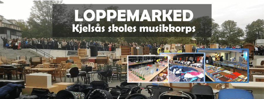 Loppemarked på Kjelsås skole, våren 2018 hovedbilde