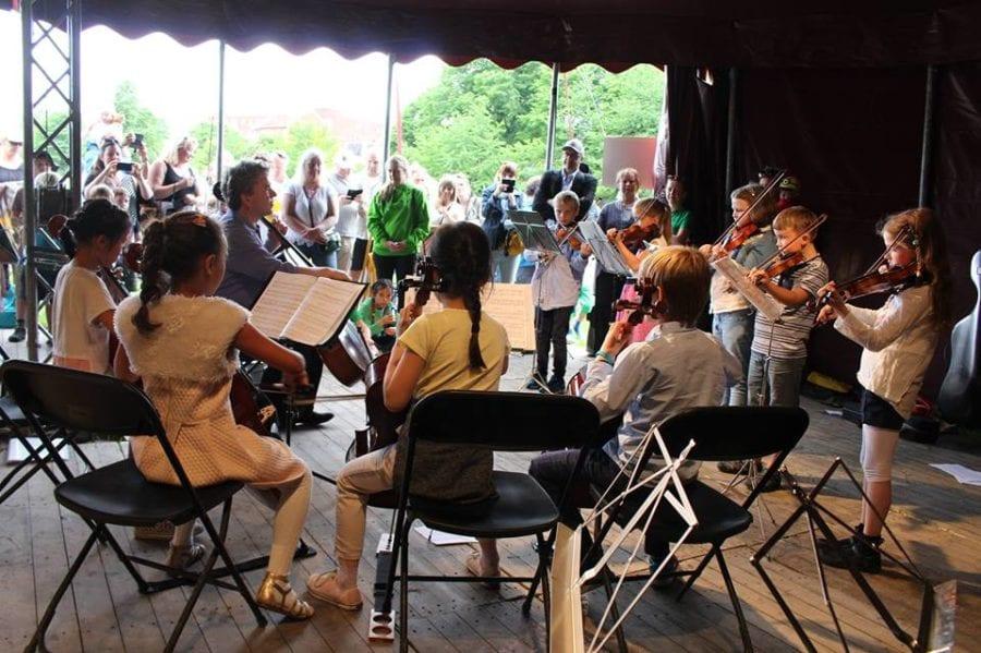 Opplevelsesdagen, Sagene sommerkonserter hovedbilde